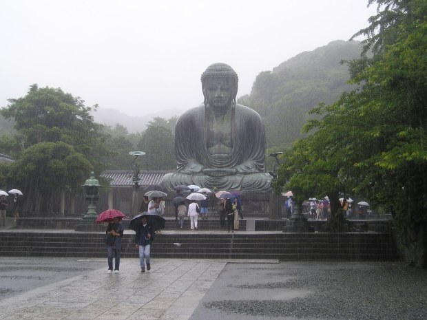 The giant bronze Buddha of Kamakura