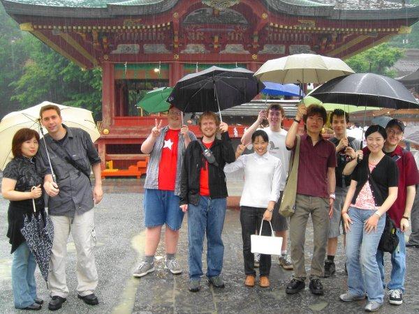 Rainy Kamakura