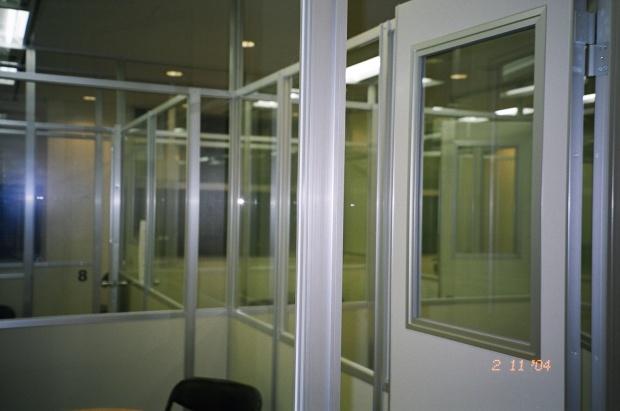 Nova Classrooms - a maze of glass boxes