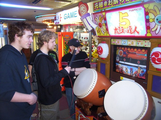 The fantastic Taiko drumming game