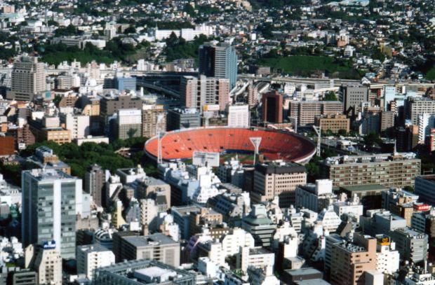 A view of Yokohama from Landmark Tower