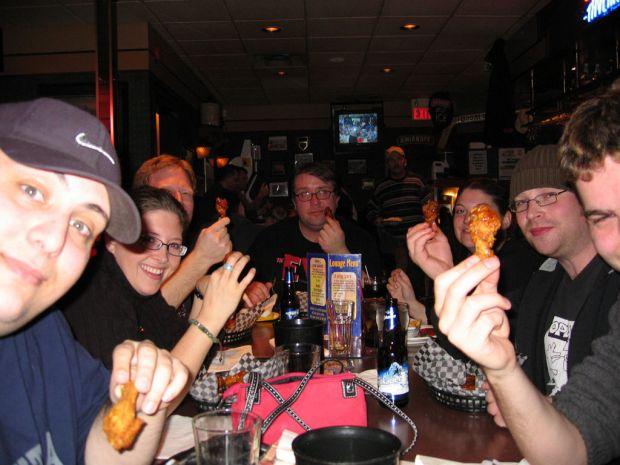 Wing night at Smitty's