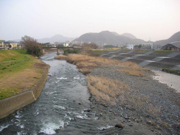 Numazu - river